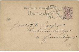 STEMPEL: Schliengen. - Stamped Stationery 1879 - Germany