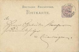 STEMPEL: Heitersheim. - Stamped Stationery 1879 - Germany
