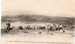 MAROC ORIENTAL DJEBLA LA COLONNE BAUNGARTEN DETRUIT LE VILLAGE INSOUMIS DE DJEBLA PRES DE TAZA - Morocco