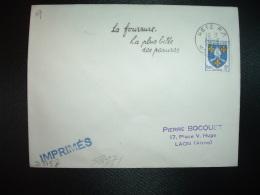 L. TP SAINTONGE 5F OBL.MEC.30-8-1955 METZ RP (57 MOSELLE) La Fourrure La Plus Belle Des Parures - Marcophilie (Lettres)