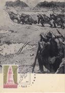 Carte    LA  GRANDE  GUERRE      Salon  Philatélique  D' Automne   1978 - Prima Guerra Mondiale