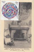 Carte Maximum  1er  Jour   Oeuvre  De   AGAM    1980 - Cartes-Maximum