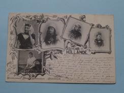 Souvenir De HOLLANDE ( Herz ) Anno 1899 ( Zie Foto Voor Details ) !! - Pays-Bas