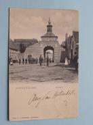 AARDENBURG KAAIPOORT ( A V Overbeeke ) Anno 1904 ( Zie Foto Voor Details ) !! - Otros