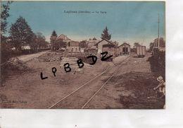 CPA - 19 - LAPLEAU - La Gare - Pas Courante - Autres Communes