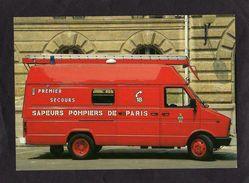 CPM - PREMIER SECOURS EVACUATION B120 60 D.R.V.I.. - Brigade De Sapeurs-Pompiers De Paris PSE - - Sapeurs-Pompiers