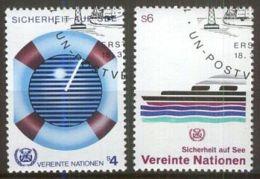 UNO WIEN 1983 MI-NR. 30/31 O Used Aus Abo - Centre International De Vienne
