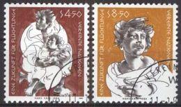 UNO WIEN 1984 MI-NR. 43/44 O Used Aus Abo - Centre International De Vienne