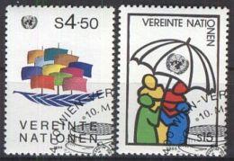 UNO WIEN 1985 Mi-Nr. 49/50 O Used Aus Abo - Centre International De Vienne