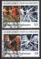 UNO WIEN 1987 MI-NR. 71/72 O Used Aus Abo - Centre International De Vienne