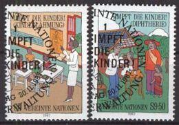 UNO WIEN 1987 MI-NR. 77/78 O Used Aus Abo - Centre International De Vienne