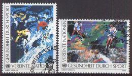 UNO WIEN 1988 MI-NR. 85/86 O Used Aus Abo - Centre International De Vienne