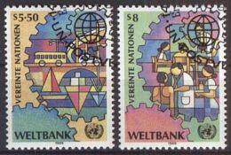 UNO WIEN 1989 MI-NR. 89/90 O Used Aus Abo - Centre International De Vienne