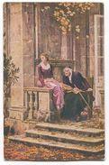 R. POETZELBERGER Painter - CENSORSHIP KRAINBURG, 1915. WW1 K.u.K. Seal - Malerei & Gemälde