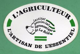 L AGRICULTEUR ARTISAN DE L ESSENTIEL /  AUTOCOLLANT - Autocollants