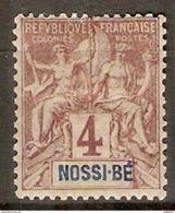NOSSI - BE      -   1894 .   Y&T N° 29 * - Nossi-Bé (1889-1901)