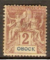 OBOCK     -   1892 .  Y&T N° 33 *.    Type Groupe - Obock (1892-1899)