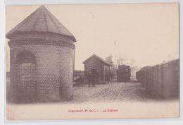 LIENCOURT - La Station - Train En Gare - France