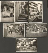 6 PHOTOS * 1956 * LIMONE SUL GARDA * 9 X 6 CM * - Brescia
