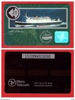 """ISLE OF MAN: 1991 CN:10IOMA """"Lady Of Mann"""" Unused Rare (6.000ex) - Isle Of Man"""