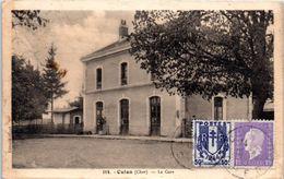 18 - CULAN -- La Gare - Culan