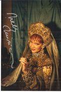NELLY MIRICIOIU SOPRANO AUTOGRAFO TORINO TEATRO REGIO 1990 - Autogramme