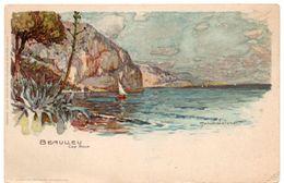 Illustrateur Manuel WIELANDT -  BEAULIEU  Cap Roux ( Alpes Maritimes ) - Dos Simple - Wielandt, Manuel