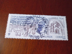 5104.OBLITERATION RONDE  SUR TIMBRE NEUF BRIVES - Used Stamps