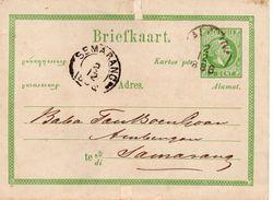 BK G6 Van SALATIGA 2 12 1886  Naar Semarang - Nederlands-Indië