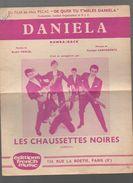 Partition: DANIELA (les Chaussettes Noires)  1961 (PPP5847) - Partitions Musicales Anciennes