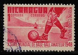 Nicargua Sports Football Used Stamp # AR:139 - Soccer