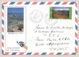 Nouvelle Caledonie - 1987 - 76 F Stamp On Airmail Cover Van Touho Naar Chateauroux / France - Nieuw-Caledonië