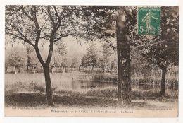 CPA 80 RIBEAUVILLE PAR SAINT VALERY SUR SOMME LES MARAIS TRES RARE ! - Saint Valery Sur Somme