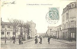CPA Bourg-la-Reine Le Boulevard Carnot - Bourg La Reine