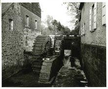 BRAINE-LE-CHÂTEAU (Brabant Wallon) - Molen/moulin - Photo Véritable 18x24 Cm Du Vieux Moulin à Eau - Places