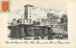 CPA Paris 4e (Dep. 75) Vue De La Pompe Du Pont Notre-Dame (88792) - Notre-Dame De Paris