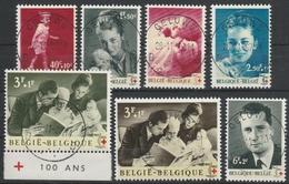 1262/1268 Rode Kruis/Croix Rouge Oblit/gestp Centrale - Belgique