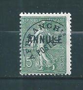France Timbre Préoblitéré  N°45    (surchargé Annulé)   Neuf **  Cote 125€ - Cours D'Instruction