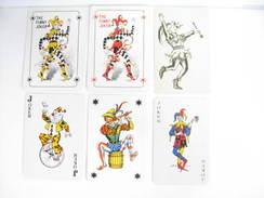 UN LOT N° 24 DE 6 JOKERS TOUS DIFFERENTS - Kartenspiele (traditionell)
