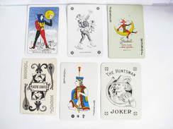 UN LOT N° 26 DE 6 JOKERS TOUS DIFFERENTS - Cartes à Jouer Classiques