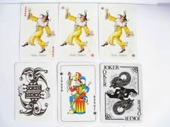 UN LOT N° 27 DE 6 JOKERS TOUS DIFFERENTS - Kartenspiele (traditionell)