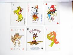 UN LOT N° 31 DE 6 JOKERS TOUS DIFFERENTS - Kartenspiele (traditionell)