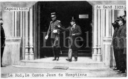 ROYALTY / Belgium / Belgique / Roi Albert I / Koning Albert I / Jéan De Hemptinne / Gent / 1913 - Gent