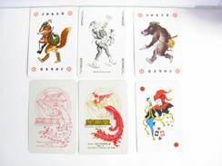 UN LOT N° 32 DE 6 JOKERS TOUS DIFFERENTS - Kartenspiele (traditionell)