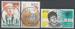 1955/1957 Solidariteit Oblit /gestp Centrale - Oblitérés