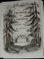 JEAN URVOY - Présence De Lamennais - Illustrations De L'auteur - 2004 - Biographien