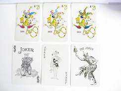 UN LOT N° 35 DE 6 JOKERS TOUS DIFFERENTS - Kartenspiele (traditionell)