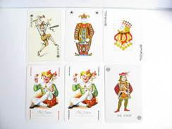 UN LOT N° 36 DE 6 JOKERS TOUS DIFFERENTS - Kartenspiele (traditionell)