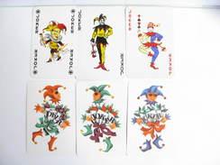 UN LOT N° 37 DE 6 JOKERS TOUS DIFFERENTS - Cartes à Jouer Classiques