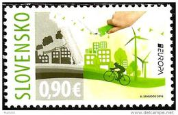Slovakia - 2016 - Europa CEPT - Think Green - Mint Stamp - Slovakia